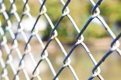 做钢绳滤网 图库摄影
