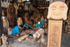 做雕象菩萨在越南 免版税图库摄影
