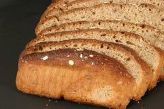 做面包的粮谷切全部 免版税库存照片