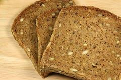 做面包的粮谷 免版税库存照片