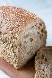 做面包的粮谷 免版税库存图片