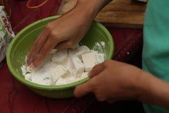 做面团食物,版本7 免版税库存图片