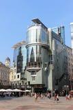 做& CO旅馆, Stephansplatz,维也纳,奥地利 免版税库存照片