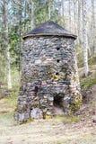 做Klenshyttan的铁建立17世纪初 免版税库存图片