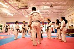做kwon tae测试 库存照片