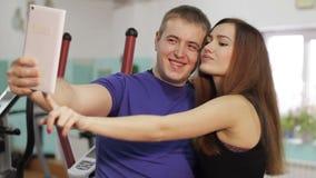 做selfie的女孩和人 影视素材