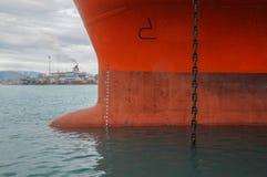 停住的船 库存照片