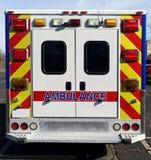 停放的救护车 库存图片