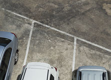 停放的汽车 免版税图库摄影