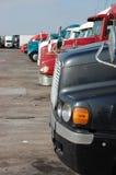 停放的终止卡车 库存照片