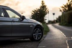 停放的BMW汽车 图库摄影