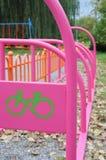 停放自行车的 免版税图库摄影