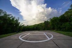 停机坪 图库摄影