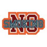 停止没有抽烟 免版税图库摄影