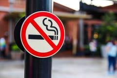 停止没有抽烟 免版税库存图片