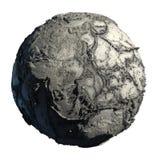 停止的地球行星 库存图片