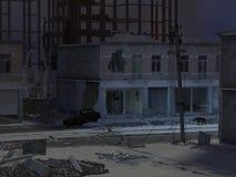 停止的城市 库存照片