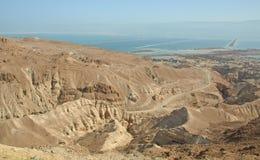 停止的沙漠judean海运 图库摄影