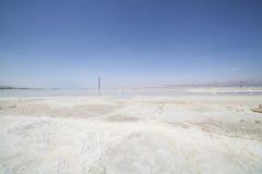 停止的盐海运 库存图片