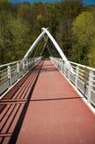 停止金属桥梁 免版税库存照片