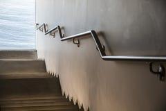 停着的扶手栏杆在一个博物馆在波士顿,马萨诸塞 库存照片