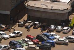 停车区域内罗毕大学 免版税库存照片