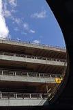 停车场在Mancester 免版税库存照片