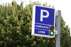 停车场符号 免版税库存照片