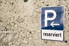 停车处标志16 免版税库存图片