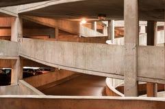 停车库在城市 库存照片