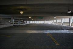 停车库在街市哈里斯堡,宾夕法尼亚 免版税库存照片