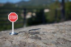 停车标志 免版税库存图片