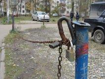 停车空间,俄罗斯 免版税图库摄影