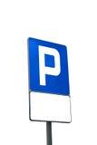 停车符号 免版税库存图片