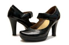 停顿平台鞋子 图库摄影