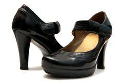 停顿平台鞋子 免版税库存图片