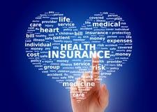 健康保险。 免版税库存照片