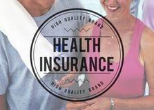 健康保险病症安全医疗保健概念 免版税库存照片