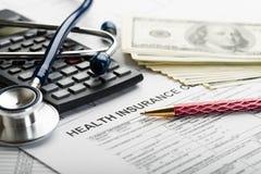 健康保险 免版税库存照片