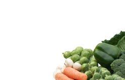 健康六vegatables 库存照片