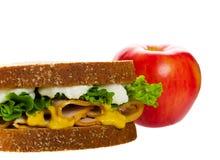 健康午餐学校 图库摄影