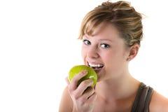 健康吃少年的 图库摄影