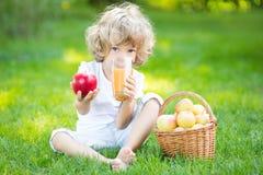 健康吃概念 免版税库存照片