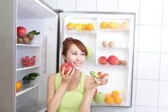 健康吃概念 库存照片