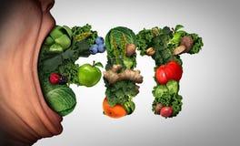 健康吃生活方式 皇族释放例证