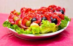 健康吃的快餐 库存图片