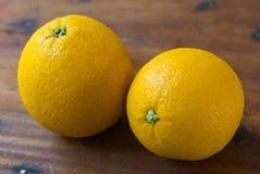 健康和维生素C的橙色果子 免版税库存图片