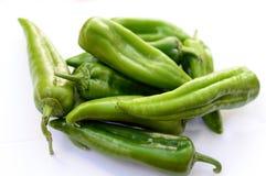 健康和自然青椒 免版税库存图片