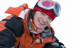 健康图象生活方式挡雪板年轻人 库存图片