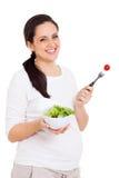健康孕妇 免版税库存图片